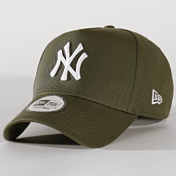 Casquette Baseball League Essential A Frame 12134883 New York Yankees Vert Kaki