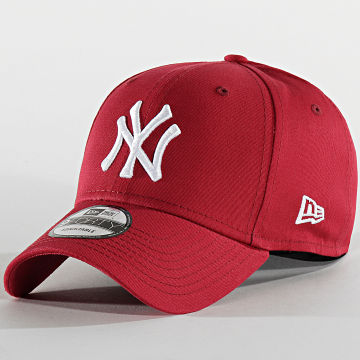 Casquette Baseball 9Forty League Essential New York Yankees 12134891 Bordeaux Blanc