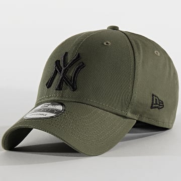 Casquette Baseball 9Forty League Essential New York Yankees 12134893 Vert Kaki Noir