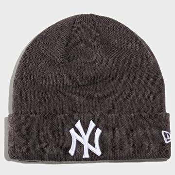 Bonnet League Essential Cuff 12134914 New York Yankees Gris