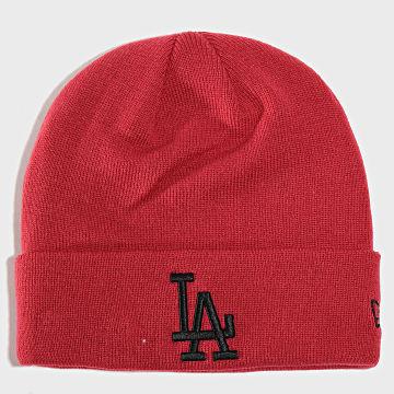 Bonnet League Essential Cuff Knit Los Angeles Dodgers 12134916 Bordeaux