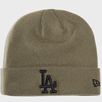 Bonnet League Essential Cuff Knit Los Angeles Dodgers 12134917 Vert Kaki