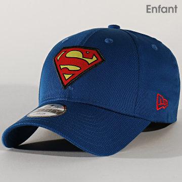 Casquette Enfant 9Forty Character 12134940 Superman Bleu Roi