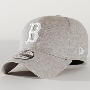 New Era - Casquette Fitted 39Thirty Jersey 12134963 Boston Red Sox Gris Clair