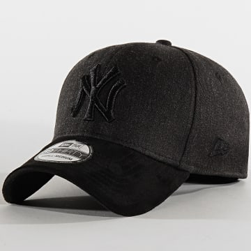 New Era - Casquette Fitted 39Thirty Heather Co 12135003 New York Yankees Noir Chiné