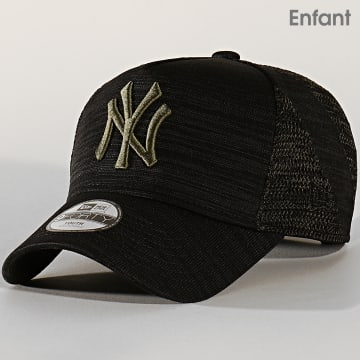 Casquette 9Forty Engineered Fit 12145407 New York Yankees Noir Vert Kaki