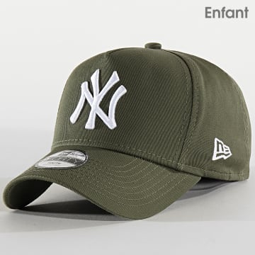 Casquette Enfant League Essential A Frame 12145443 New York Yankees Vert Kaki