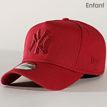 Casquette Enfant 9Forty League Estl A Frame 12145445 New York Yankees Bordeaux