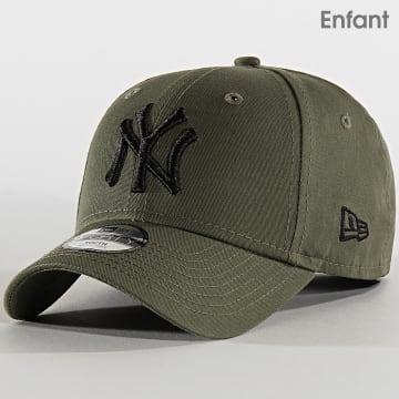 Casquette Enfant 9Forty League Essential 12145454 New York Yankees Vert Kaki