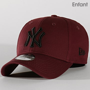 Casquette Enfant 9Forty League Essential 12145455 New York Yankees Bordeaux