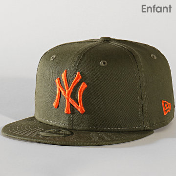 Casquette Enfant 9Fifty League Essential 12145467 New York Yankees Vert Kaki