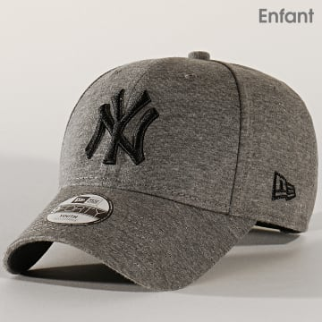 Casquette Enfant 9Forty Essential Jersey 12145475 New York Yankees Gris Anthracite Chiné