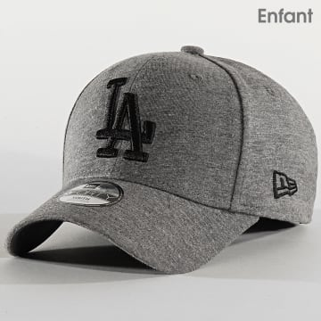 Casquette Enfant 9Forty Jersey Essential 12145477 Los Angeles Dodgers Gris Chiné