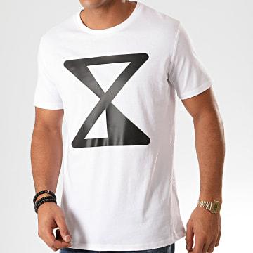 Tee Shirt Logo Blanc