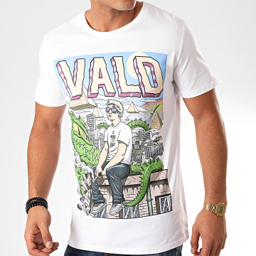 Vald - Tee Shirt Monde Cruel Blanc