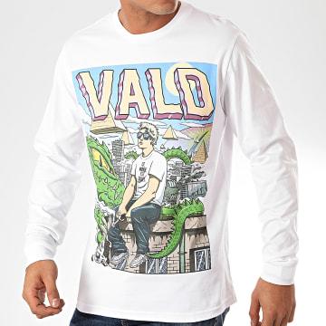 Vald - Tee Shirt Manches Longues Monde Cruel Blanc