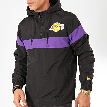 Coupe-Vent NBA Los Angeles Lakers Noir Violet