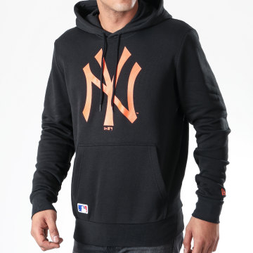 Sweat Capuche MLB Seasonal Team Logo New York Yankees 12123927 Noir