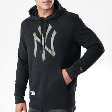 Sweat Capuche MLB Seasonal Team Logo New York Yankees 12123928 Noir