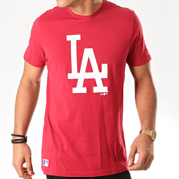 New Era - Tee Shirt MLB Seasonal Team Logo Los Angeles Dodgers 12123935 Bordeaux