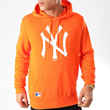 Sweat Capuche MLB Seasonal Team Logo New York Yankees 12123940 Orange