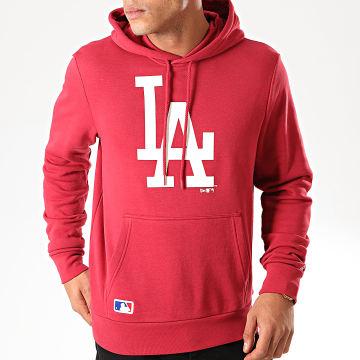 Sweat Capuche MLB Seasonal Team Logo Los Angeles Dodgers 12123941 Bordeaux