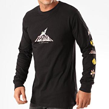 Tealer - Tee Shirt Manches Longues Woodstock Noir