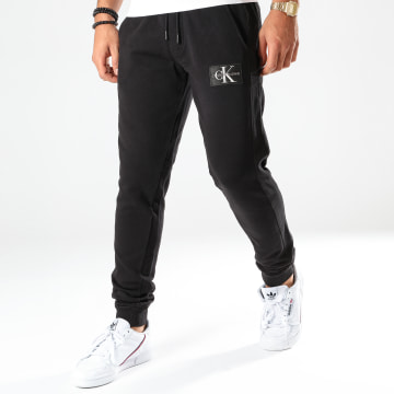 Pantalon Jogging Monogram Patch HWK 4066 Noir