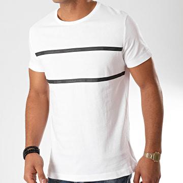 Calvin Klein - Tee Shirt Institutional Tape Detail 4564 Blanc