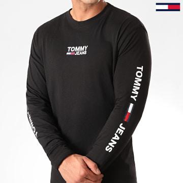 Tee Shirt Manches Longues Corp 7431 Noir