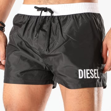 Diesel - Short De Bain BMBX Sandy 2 017 00SV9T-00SV9U Noir Blanc