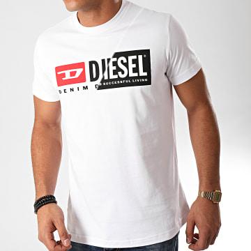 Diesel - Tee Shirt Diego Cuty 00SDP1-0091A Blanc