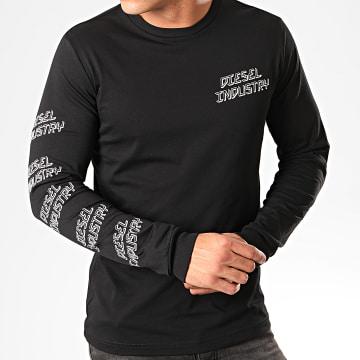 Diesel - Tee Shirt Manches Longues Diego 00SDQ0-0091A Noir