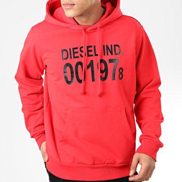 Diesel - Sweat Capuche S-Girk 00SAUN-0IAJH Rouge