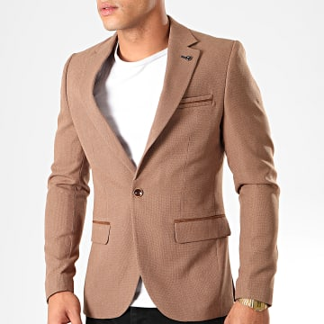 Black Needle - Veste Blazer 20245 Marron Clair