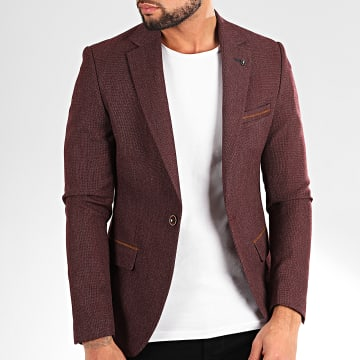 Black Needle - Veste Blazer 20245 Bordeaux