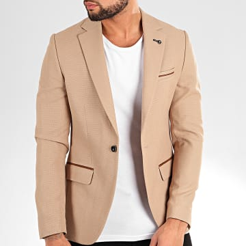 Black Needle - Veste Blazer 20245 Beige