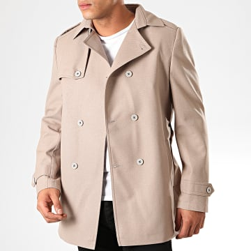 Black Needle - Manteau Trench Coat 7002 Beige