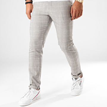 Classic Series - Pantalon Carreaux X-634 Gris