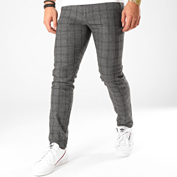 Classic Series - Pantalon Carreaux X-634 Noir