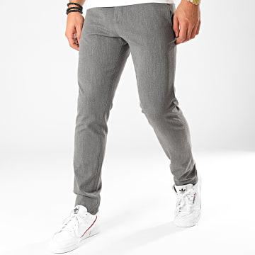 Classic Series - Pantalon Chino X-661 Gris Anthracite Chiné