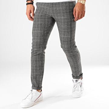 Classic Series - Pantalon A Carreaux X-662 Noir
