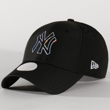 New Era - Casquette Femme 9Forty MLB Nylon 12134627 New York Yankees Noir