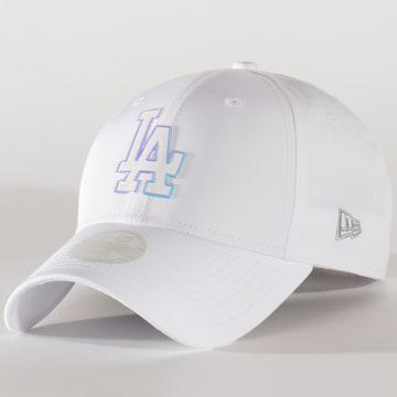 New Era - Casquette Femme 9Forty MLB Nylon 12134628 Los Angeles Dodgers Blanc
