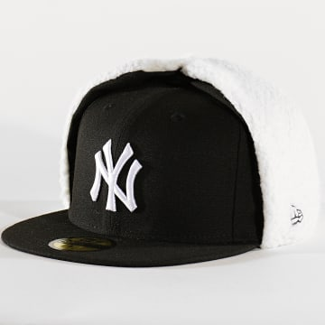 Casquette Chapka 59Fifty League Essential Dog Ears 12134878 New York Yankees Noir