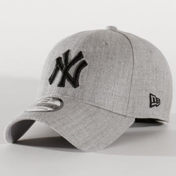 Casquette Fitted 39Thirty Heather Estl 12134987 New York Yankees Gris Chiné