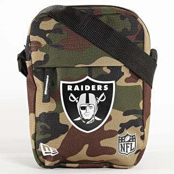Sacoche Camouflage NFL Oakland Raiders 12145331 Vert Kaki