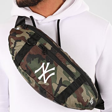 New Era - Sacoche Banane Camouflage MLB New York Yankees 12145411 Vert Kaki