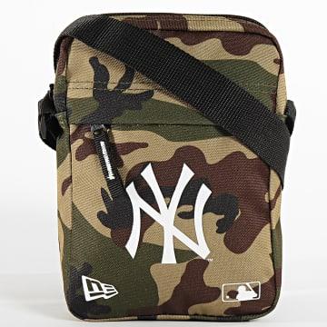 New Era - Sacoche Camouflage MLB New York Yankees 12145421 Vert Kaki