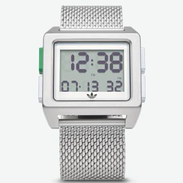 Montre Archive M1 Z013244-00 Silver White Green